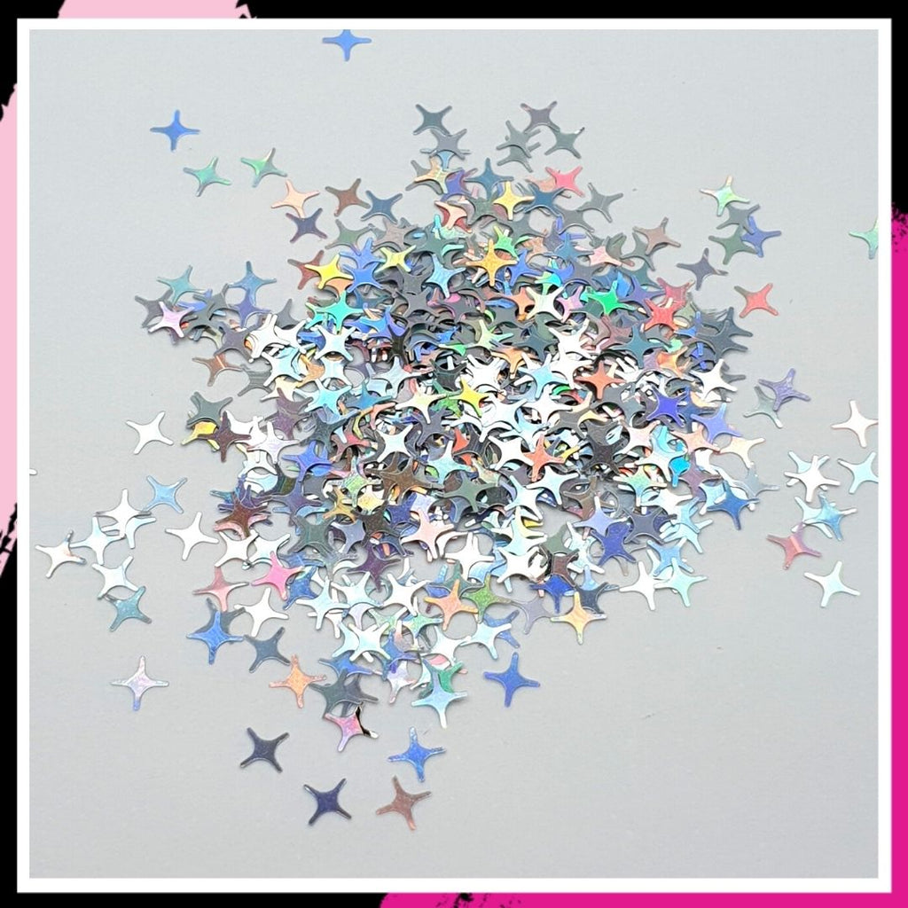 Rhinestone - 4 point stars
