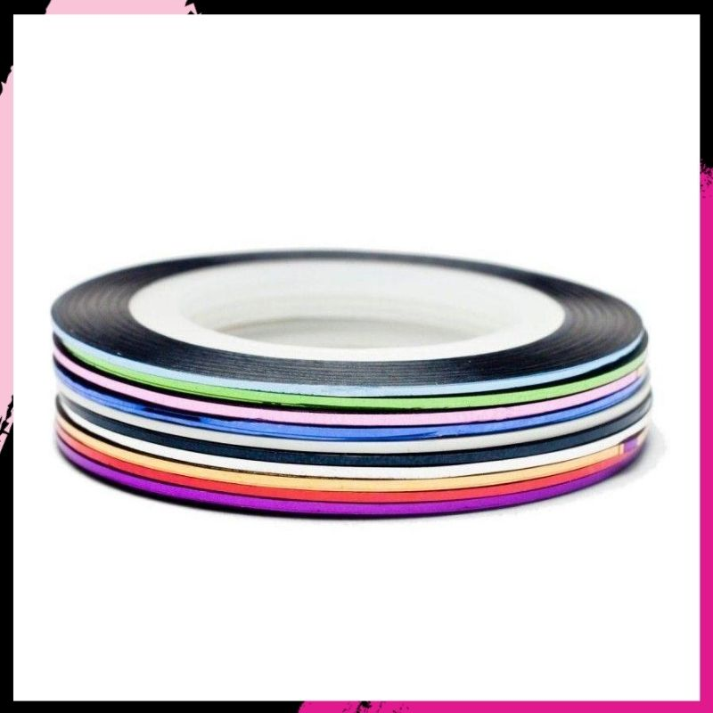 Metallic Striping Tape - 10 Roll Pack