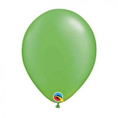 Pearl Lime Green Balloons Pk 5