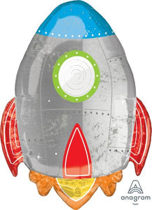 Blast Off Space Ship Foil 73cm