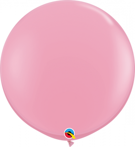 Qualatex Standard Pink Balloon 90cm
