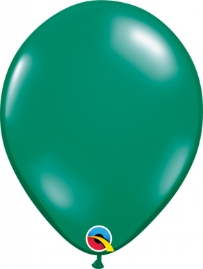 Emerald Green Balloon Pk 5