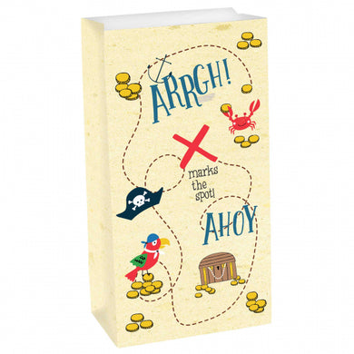 Ahoy Pirate Paper Bag