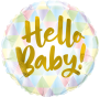 Hello Baby Foil Balloon 24""