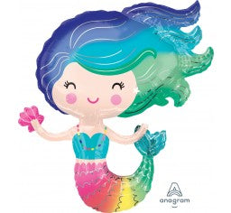 Mermaid  Foil Balloon (73CM X 76CM)