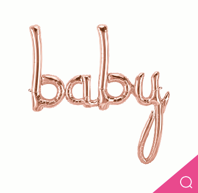 Baby Air Filled Rose Gold 46