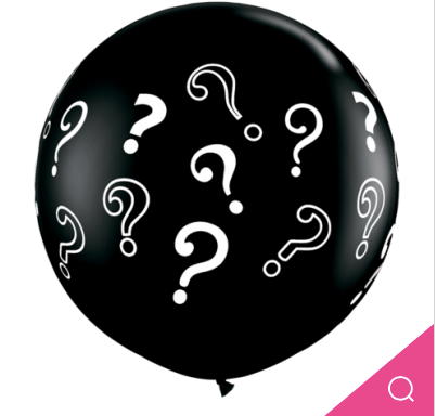 Gender Reveal Latex Balloon 90cm