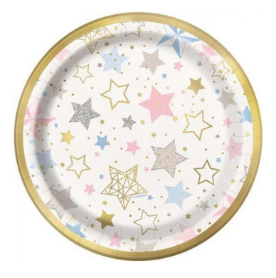 Twinkle Star Cake Paper Plate