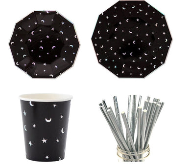 Space Galaxy Partyware Kit