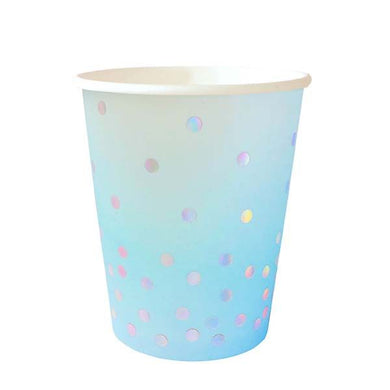 Illume Blue Paper Cups 10pk