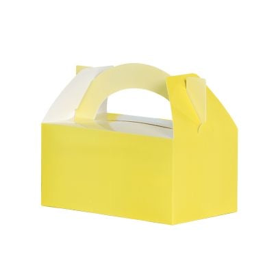 Pastel Yellow Favour Box 5pk