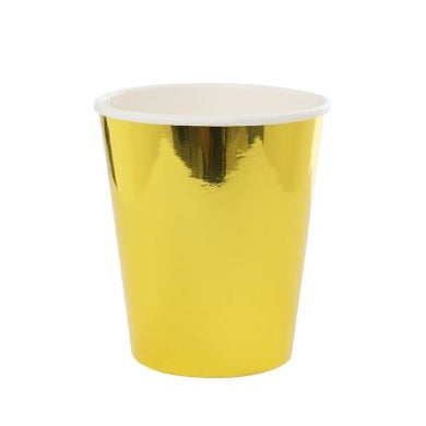 Metallic Gold Paper Cup 10pk