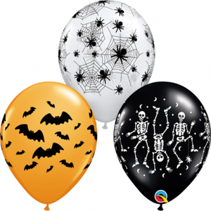 Spooky Party Balloons Pk 9