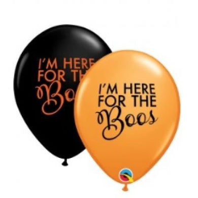 I'm here for the Boos Balloon Pk 10