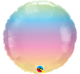 Pastel Rainbow Foil Balloon