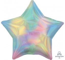 Star Pastel Rainbow Foil Balloon