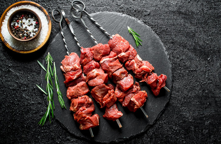 Lamb Steak Brochette Skewers (90 - 120 grams)