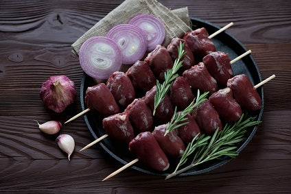 Beef Steak Brochette Skewers (90 - 120 grams)