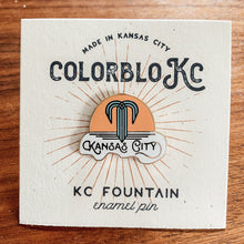 Load image into Gallery viewer, Kansas City Fountain - Enamel Pin