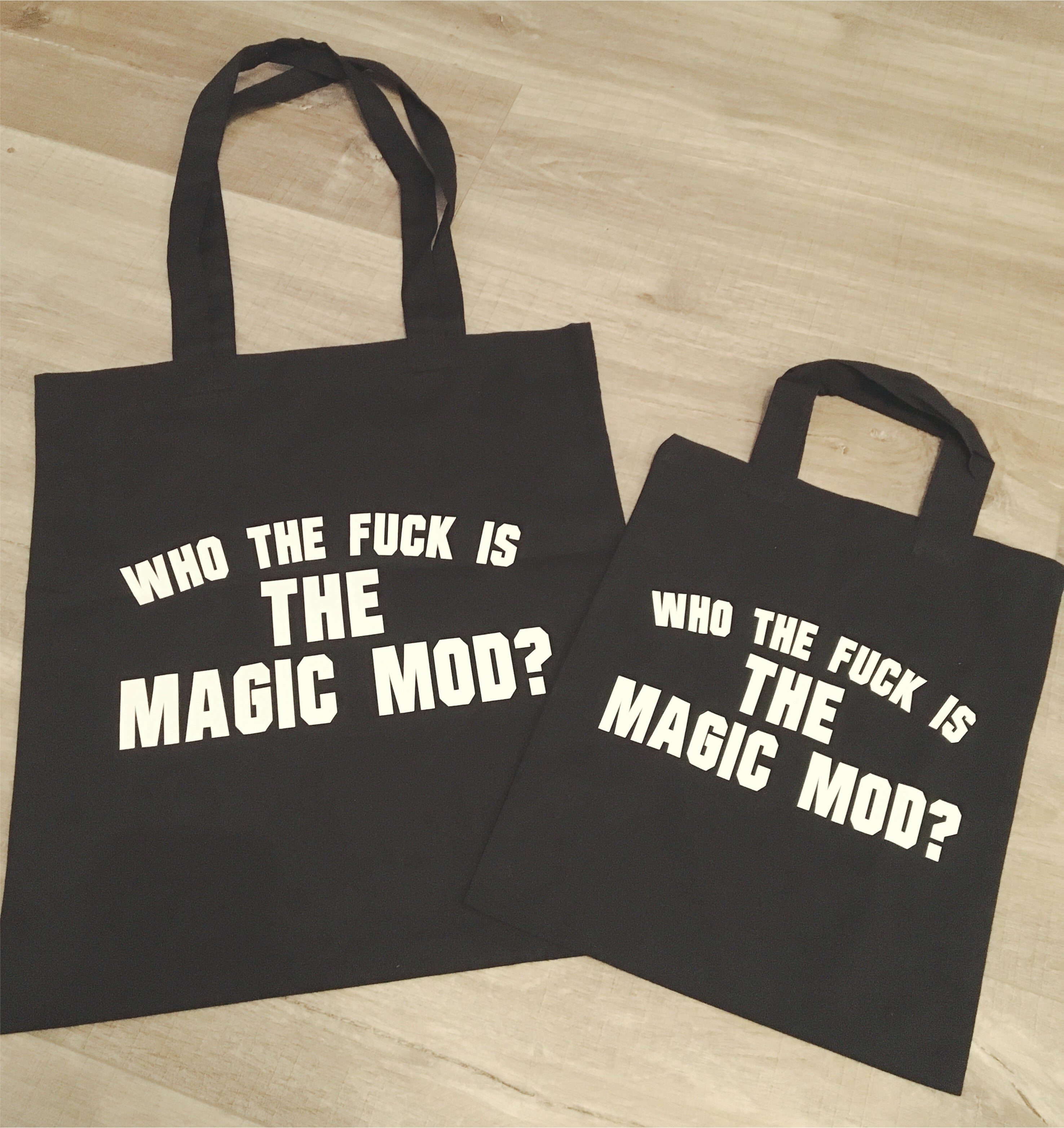 Who The fuck is Magic Mod Tote Bag