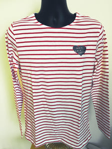 Signature  long sleeve stripe