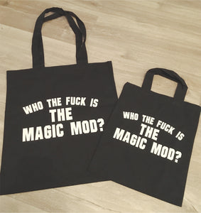 Who the fuck is Magic Mod small tote bag