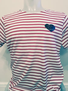 IGD Signature Red Striped T-shirt