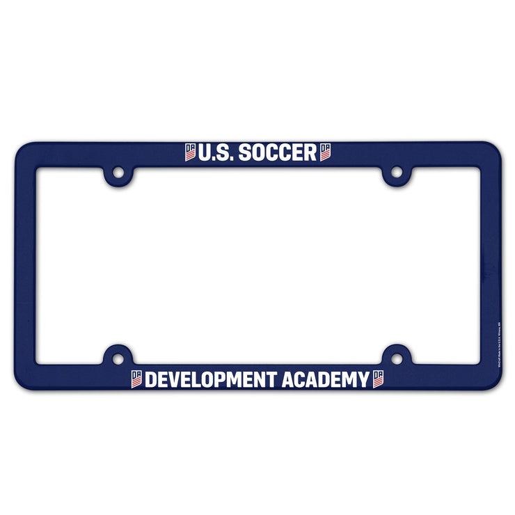 U.S. SOCCER DEVELOPMENT ACADEMY LICENSE PLATE FRAME