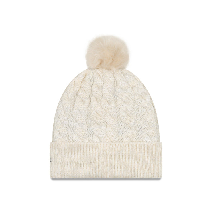 U.S. SOCCER WOMEN'S NEW ERA CABLE 3-STAR KNIT - CREAM