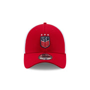 U.S. SOCCER NEW ERA USA 39THIRTY SEMESTER 3-STAR CAP - RED/WHITE