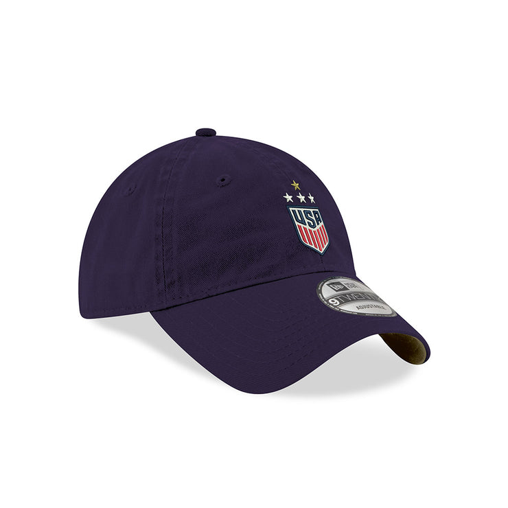 NEW ERA WNT 4 STAR CHAMPION HAT - BLUE