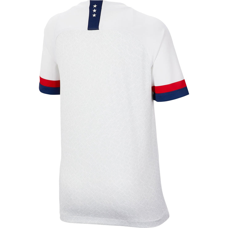 YOUTH NIKE USA BREATHE 3-STAR STADIUM HOME JERSEY - WHITE