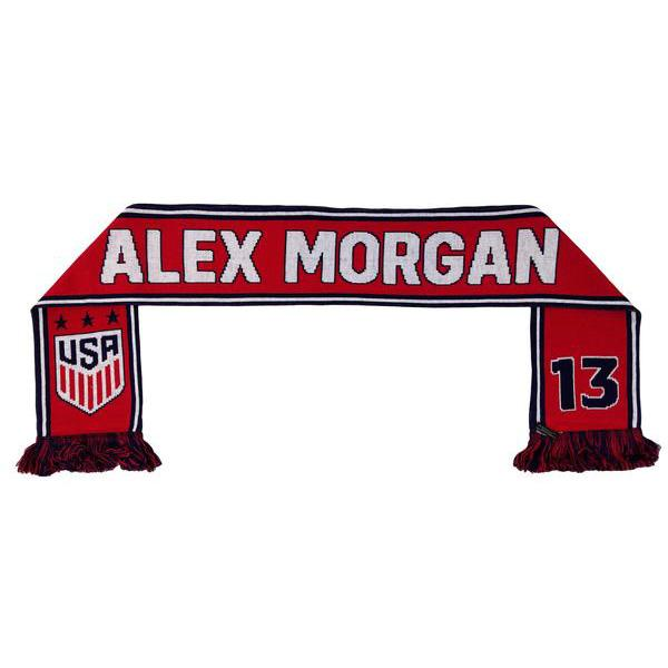U.S. SOCCER UNITED STATES ALEX MORGAN 13 SCARF