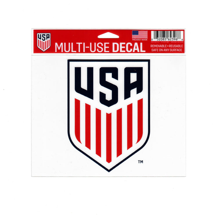 U.S. SOCCER 5X6 MULTI USE DECAL