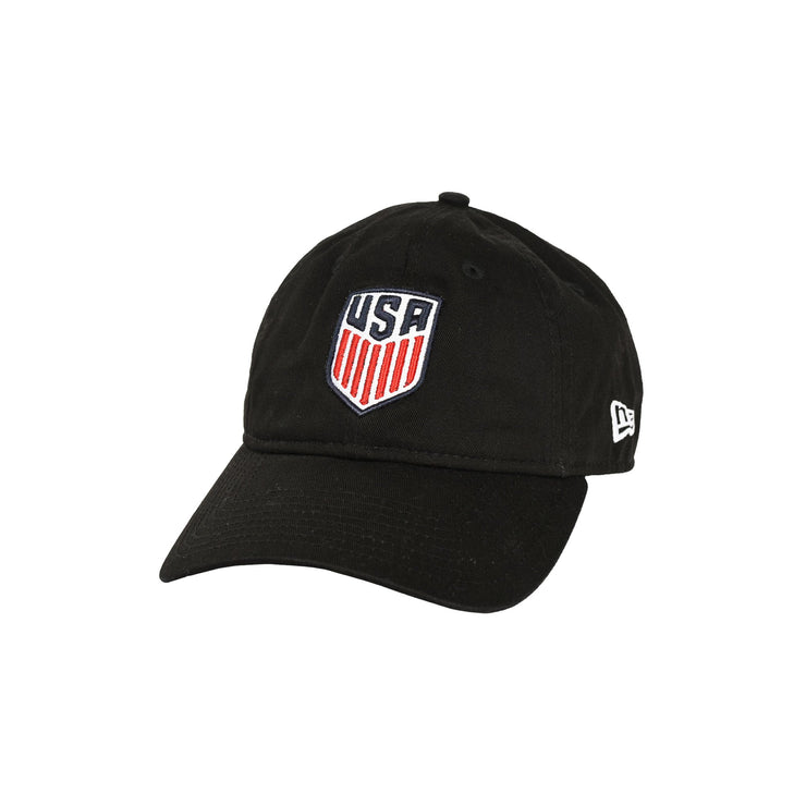 U.S. SOCCER NEW ERA USA 9twenty CREST HAT - BLACK