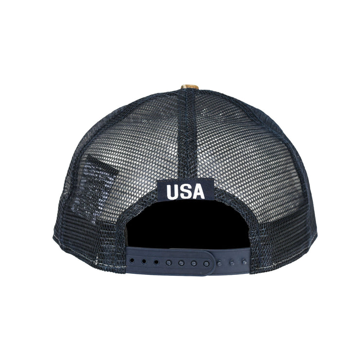 U.S. SOCCER NEW ERA USA 9FIFTY TRUCKER SNAPBACK - TREELINE CAMO