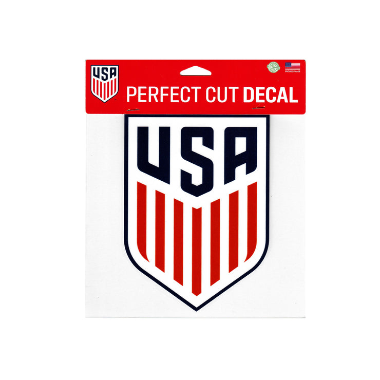 U.S. SOCCER 8X8 PERFECT CUT DECAL