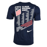 U.S. SOCCER DEVELOPMENT ACADEMY WINTER SHOWCASE SS TEE - NAVY