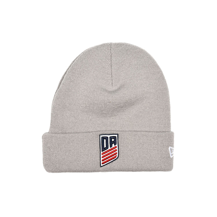 U.S. SOCCER NEW ERA DEVELOPMENT ACADEMY KNIT CUFF - GREY