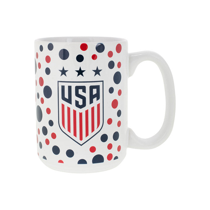 BOELTER BRANDS WNT 3-STAR SUBLIMATED POLKA DOT MUG
