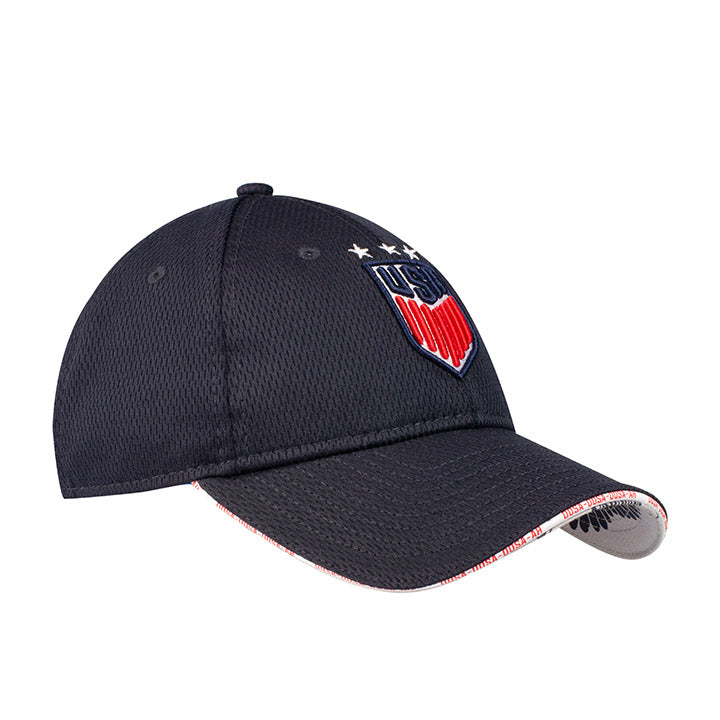 WOMEN'S NEW ERA USA 920 FLIP UP HAT - NAVY