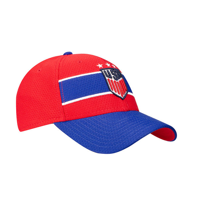 NEW ERA USA 920 WOMENS POP FLASH HAT - RED/ROYAL
