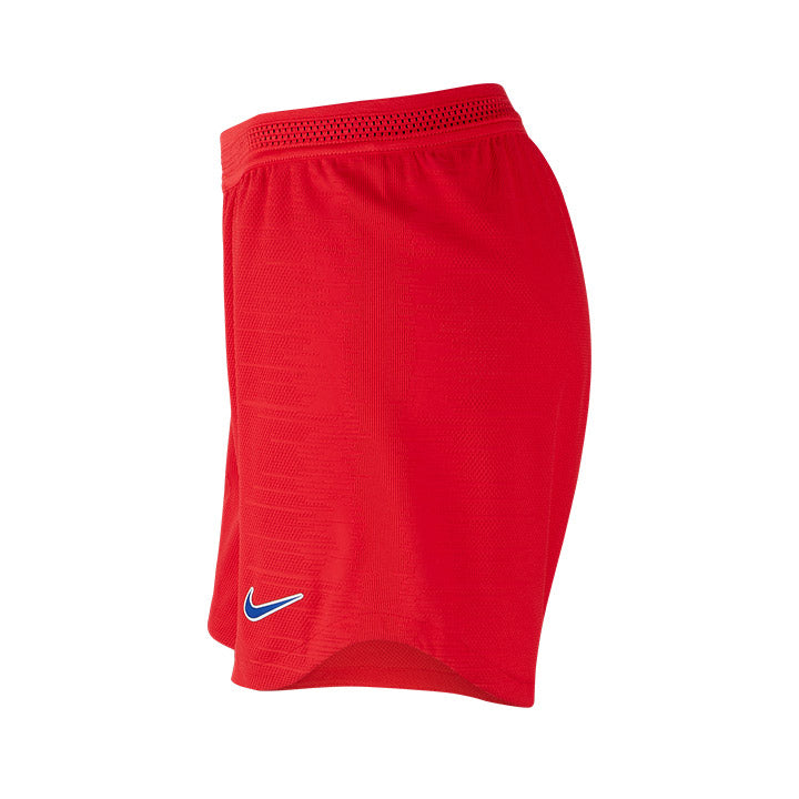WOMENS USA NIKE 3-STAR VAPOR MATCH SHORT - RED