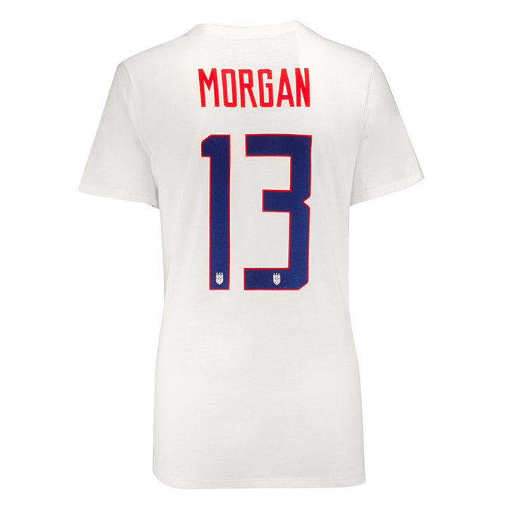 WOMEN'S NIKE MORGAN NAME & NUMBER TEE