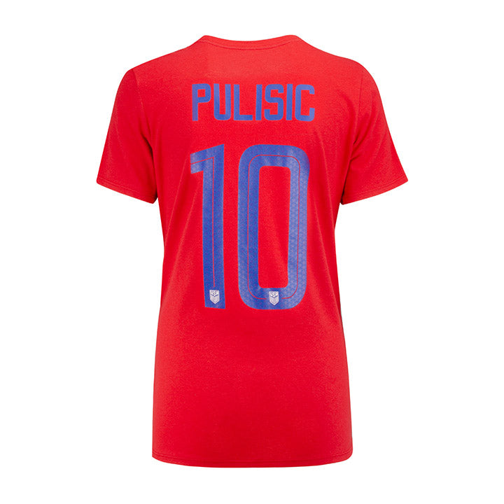 WOMEN'S NIKE PULISIC NAME & NUMBER TEE