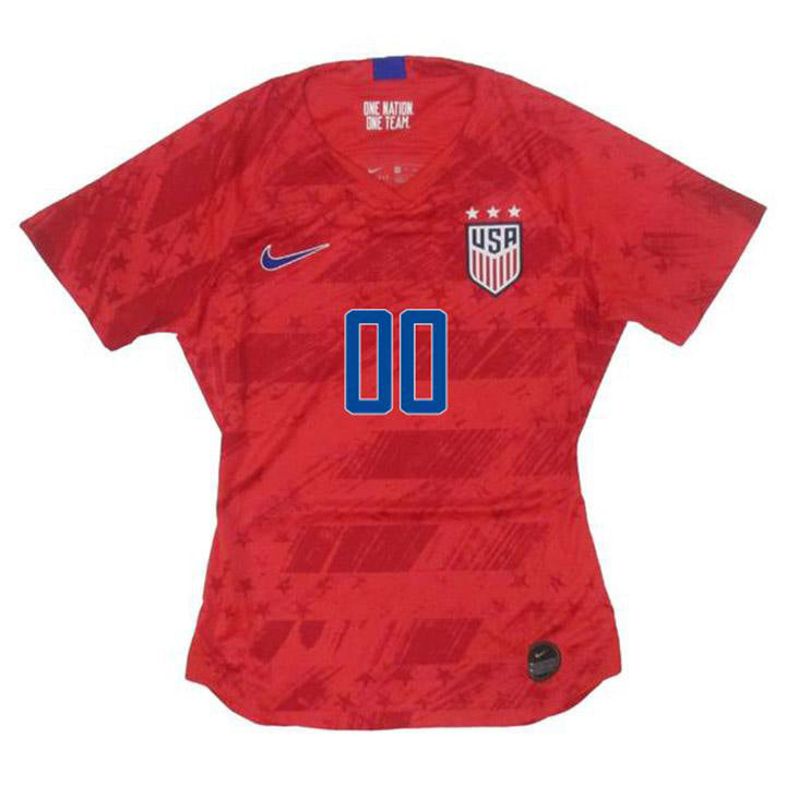 PLAYER WOMEN'S NIKE USA WNT BREATHE STADIUM RED AWAY JERSEY