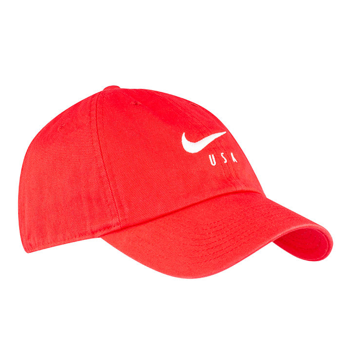 NIKE USA SWOOSH 3-STAR  HERITAGE 86 HAT - RED