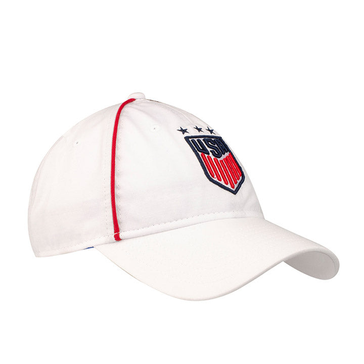 WOMEN'S NEW ERA USA 920 TEAM STREAK HAT - WHITE