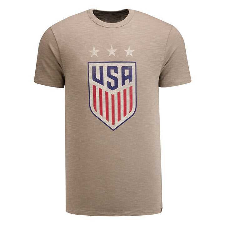 MEN'S 47 3-STAR CREST SCRUM TEE - GRAY