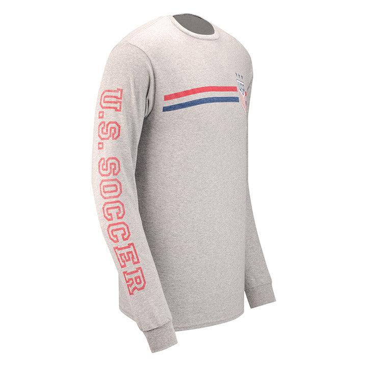 MEN'S JUNKFOOD WNT SLEEVE STRIPE L/S TEE